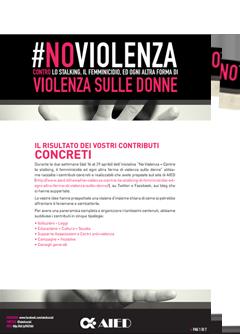 #NoViolenza Contributi PDF